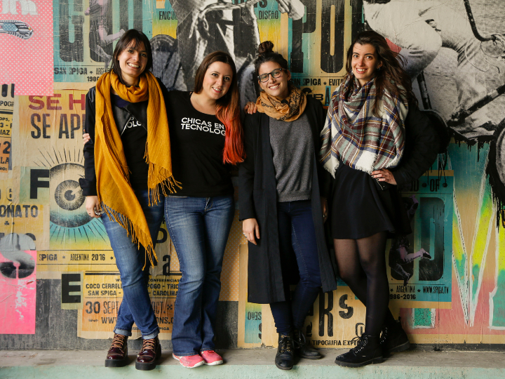 Chicas en Tecnologia Co-founders