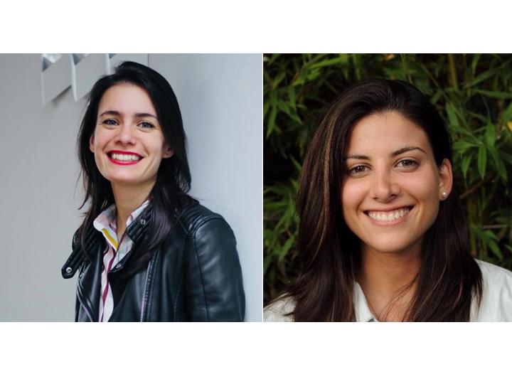 Melina Masnatta and Sofia Contreras