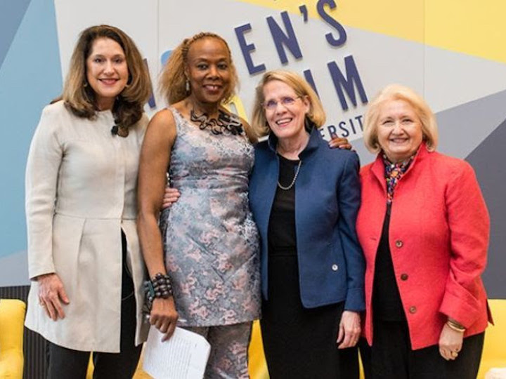 Female Georgetown professors, administrators, and alumni