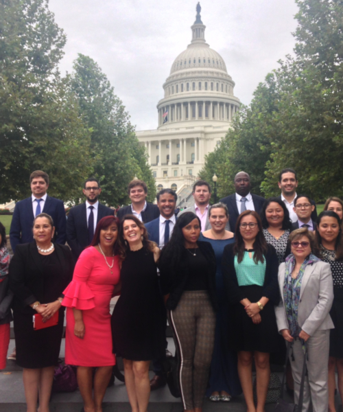 ILG 2018 participants in front of theU.S. Capitol