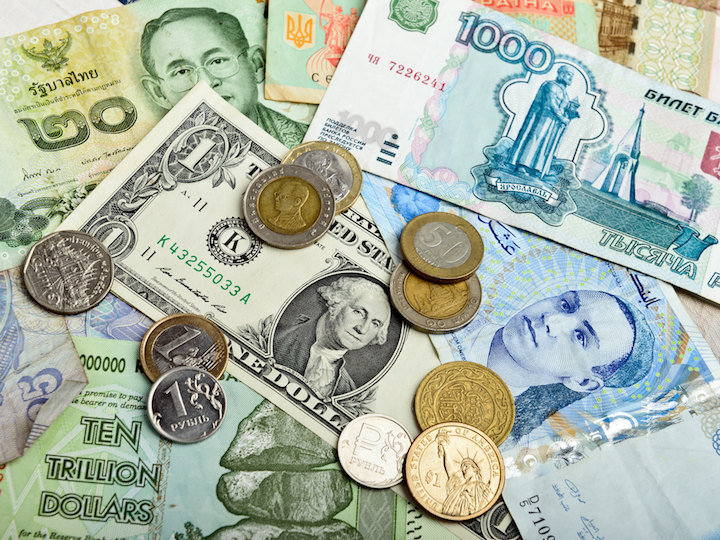 Currency from around the globe
