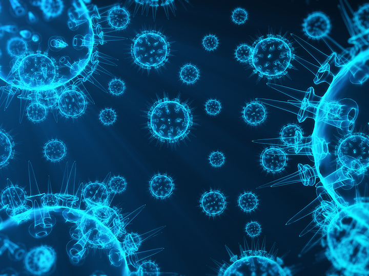 Visualization of viruses