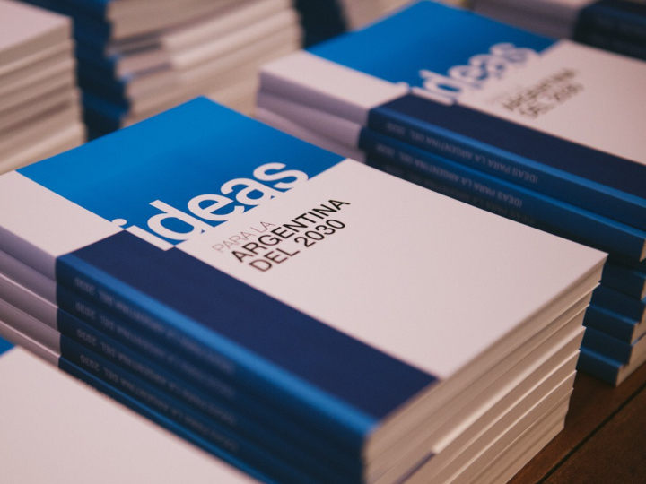 Photo of the book Ideas for Argentina 2030