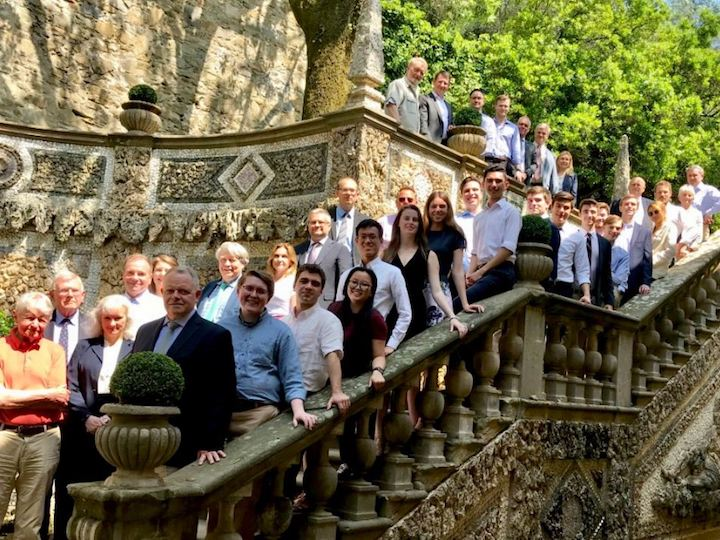 Participants in the Machiavelli Seminar and European-American Workshop on Security Affairs at Villa Le Balze.