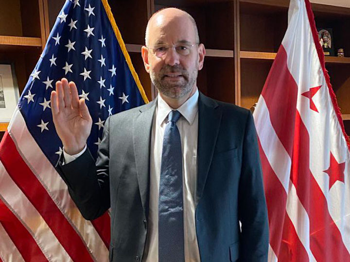 Uwe S. Brandes, the new chair of DC's commission on climate change and resiliency