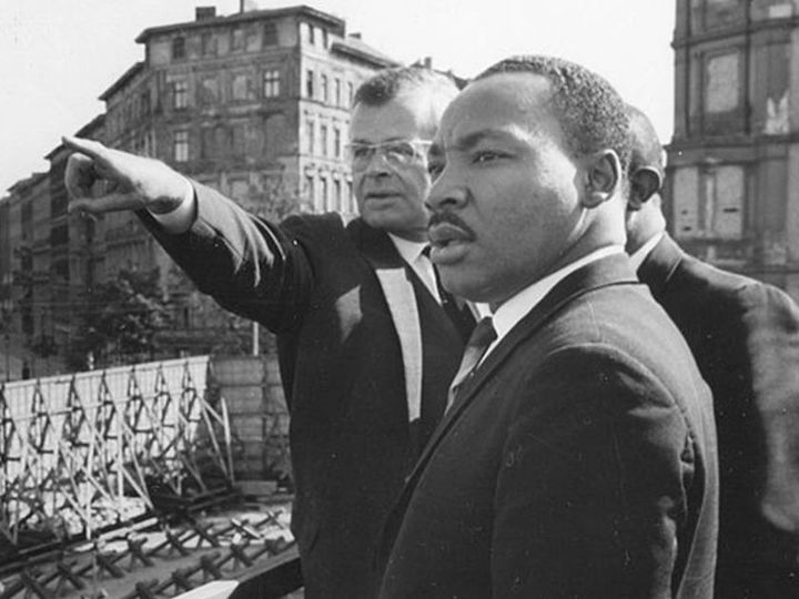 Martin Luther King Jr. on his trip to Berlin
