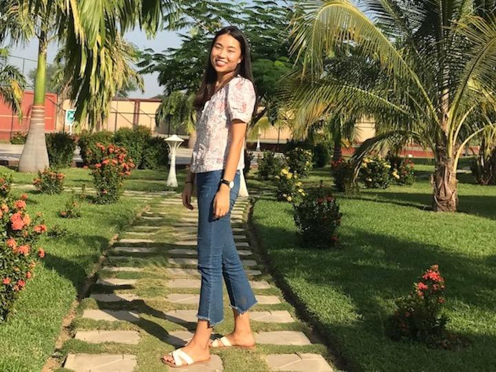 Global Health major Dahye Yoon (NHS'20)