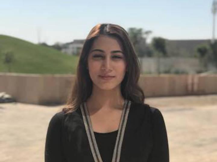 Ayesha Iqbal, a Second-Year Student Majoring in International Politics
