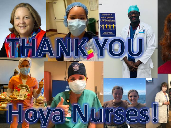 Hoya nurses collage