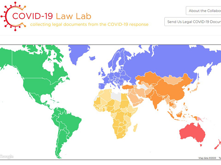 COVID Law Lab - collecting legal documents from the COVID-19 response
