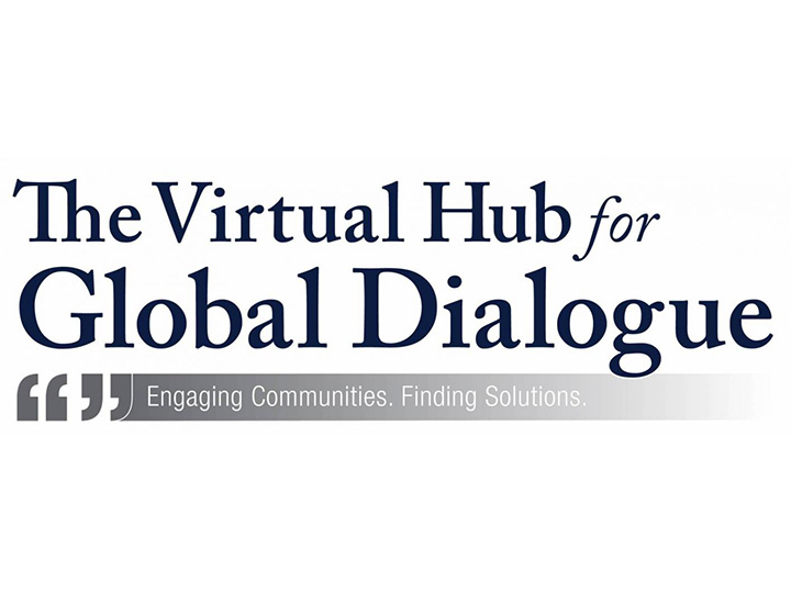 logo: Virtual Hub for Global Dialogue: Engaging Communities, Finding Solutions