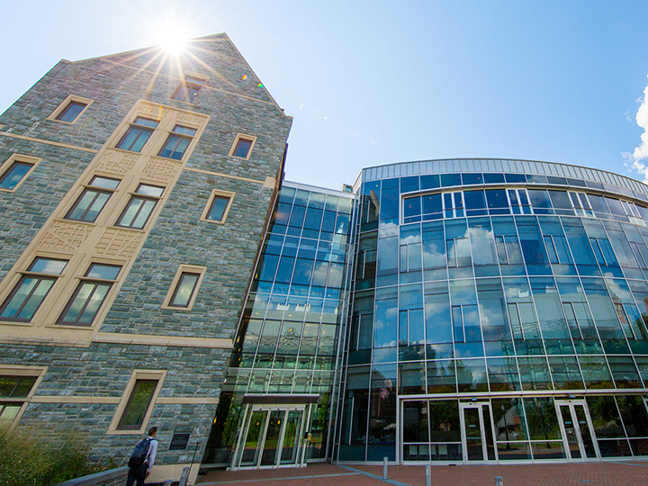 Rafik B. Hariri Building, home of the McDonough School of Business