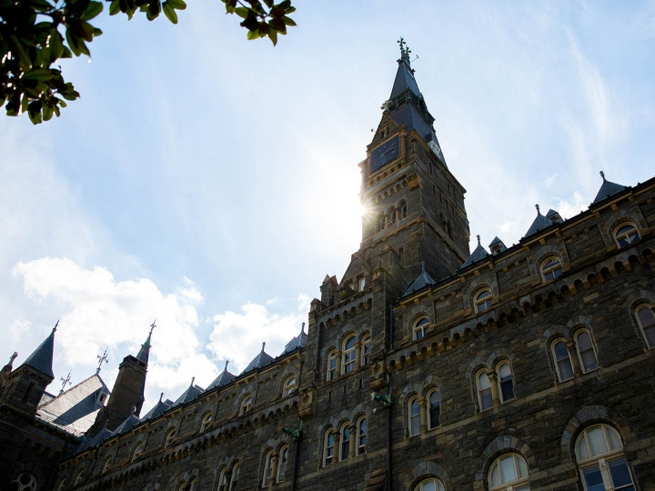 Healy Hall Tower, Georgetown University