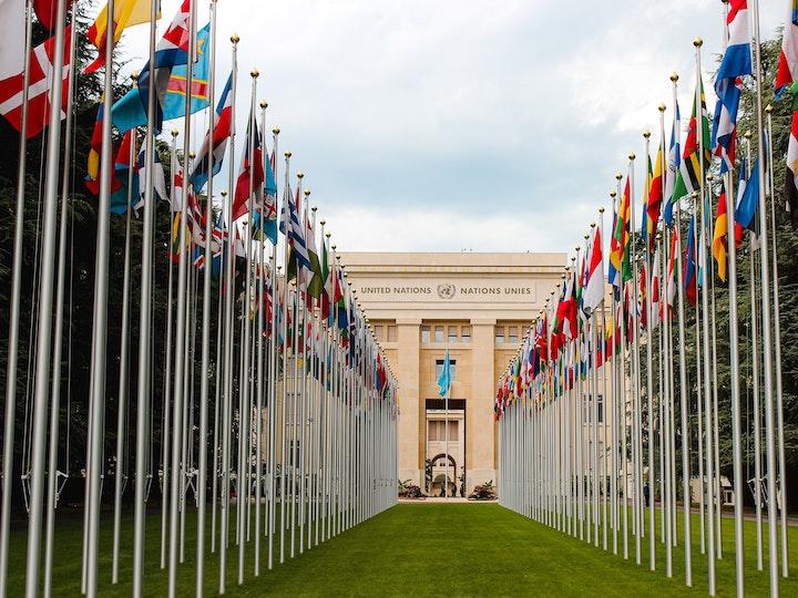 United Nations Headquarters in Geneva, Switzerland