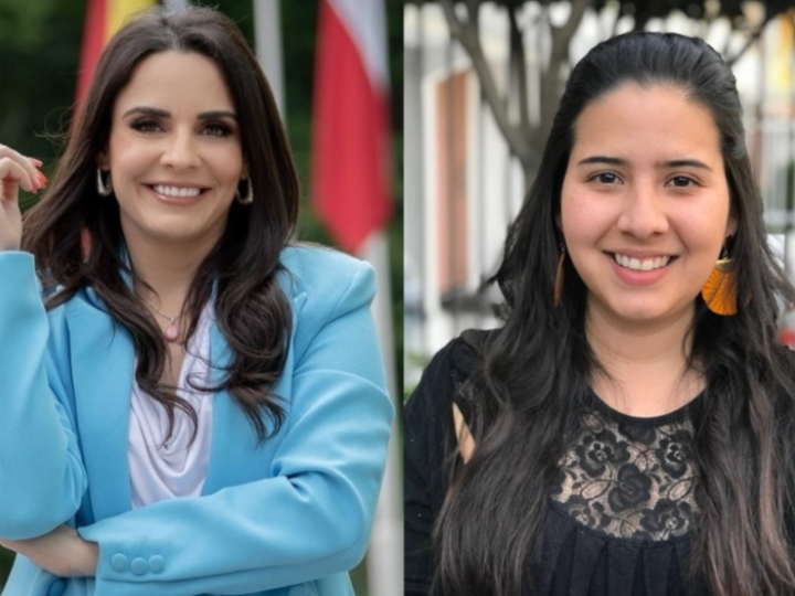 Olinda Salguero (GCL, 2016, Guatemala) and Vanessa Castro (GCL, 2016, Nicaragua)