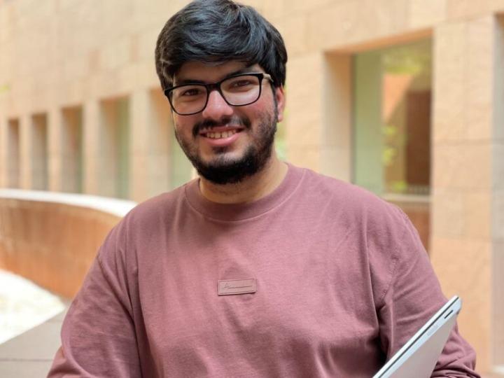Georgetown University Qatar student Kartikeya Uniyal