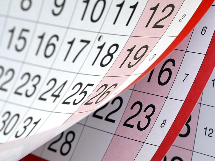 Global Events Calendar