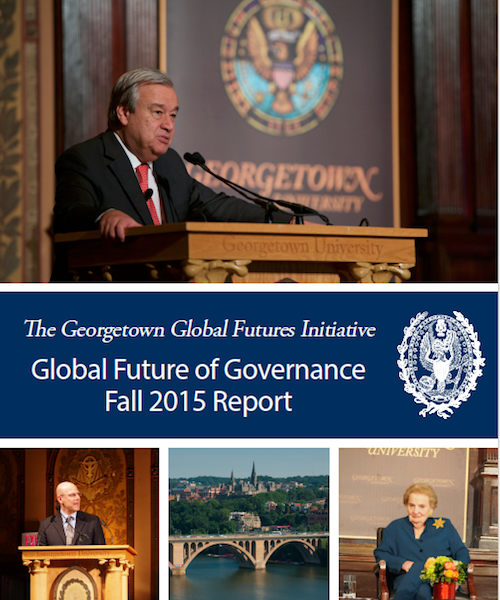 The Global Future of Governance Fall 2015 Report
