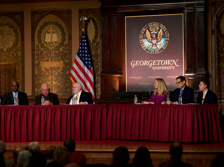 "National Catholic Reporter: ""Georgetown panel discusses humanity within immigration debate"""