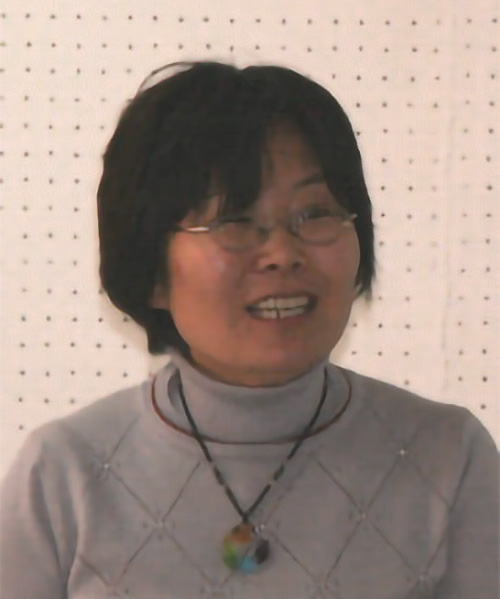 Zhang Lili portrait
