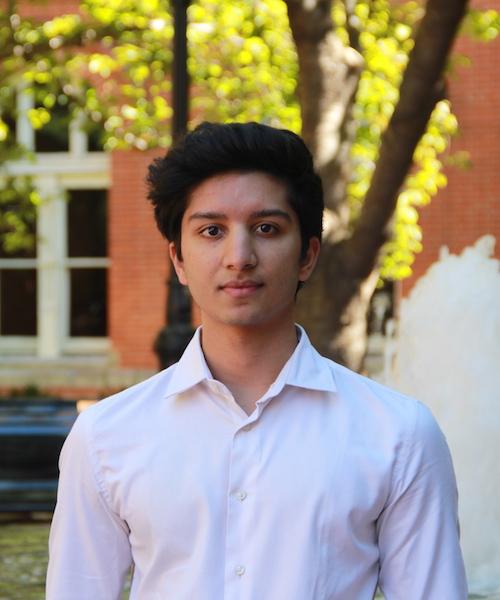 Veer Parikh headshot