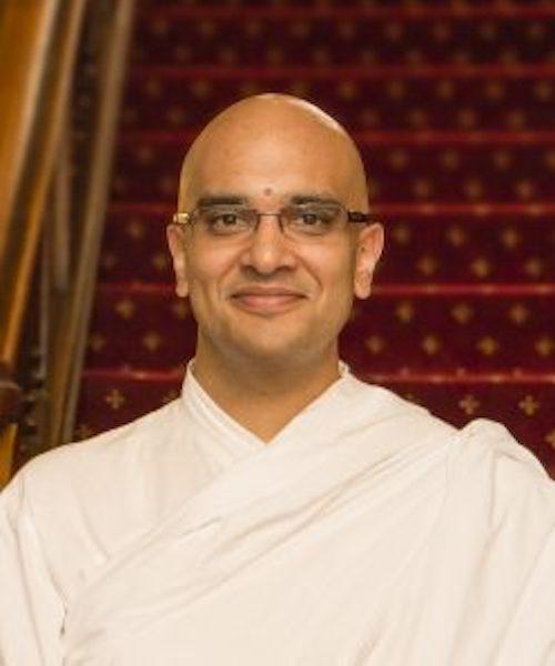 Brahmachari Vrajvihari Sharan headshot