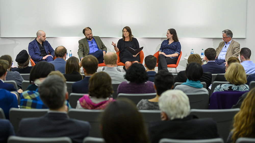 Panelists at the November 20, 2019 gathering.