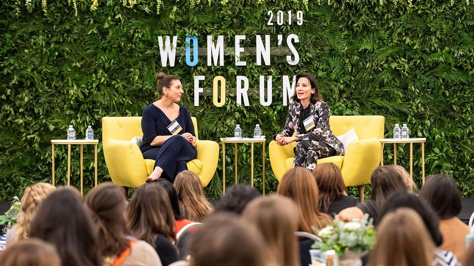 Participants at the Women's Forum 2019