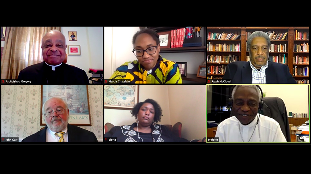 Panelists at the online June 5, 2020 dialogue.