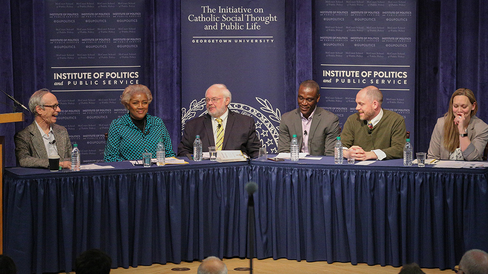 Panelists at the March 4, 2020 dialogue.