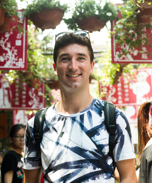 Michael Mullaney, 2017-2018 US-China Student Fellow