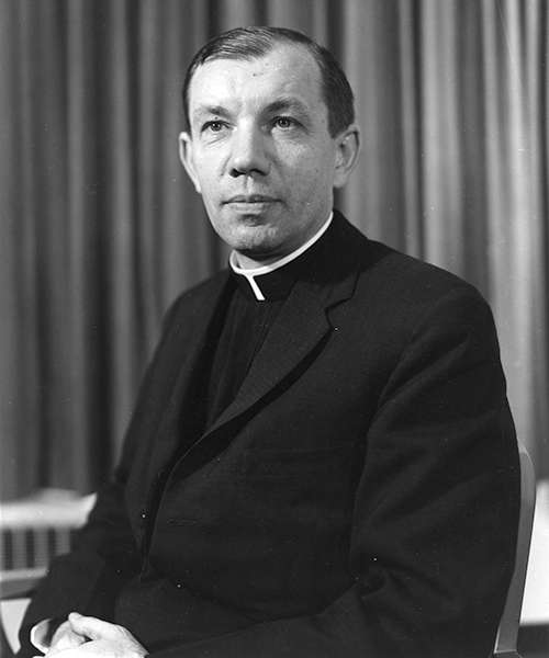 Portrait of Father Joseph Sebes, S.J.