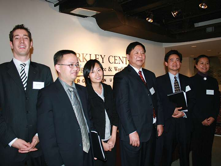Young scholars of religion in China at the Berkley Center
