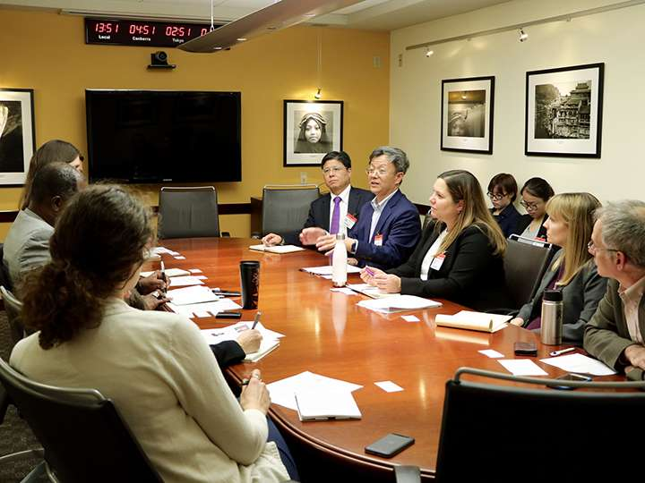 U.S.-China Research Group on Climate Change at a meeting
