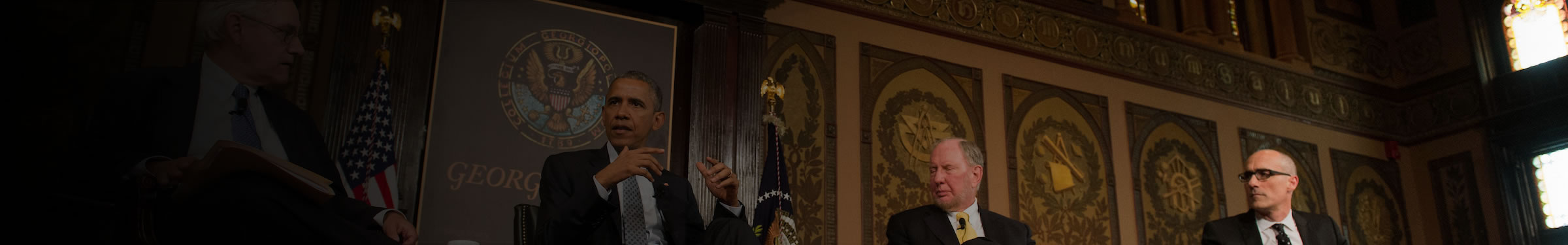 President Barack Obama speaks at a National Leadership Convening on poverty in May 2015.