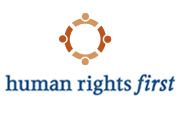 Human rights first logo