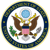Us department of state official seal