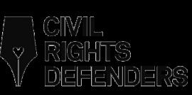 Civil rights defenders logo