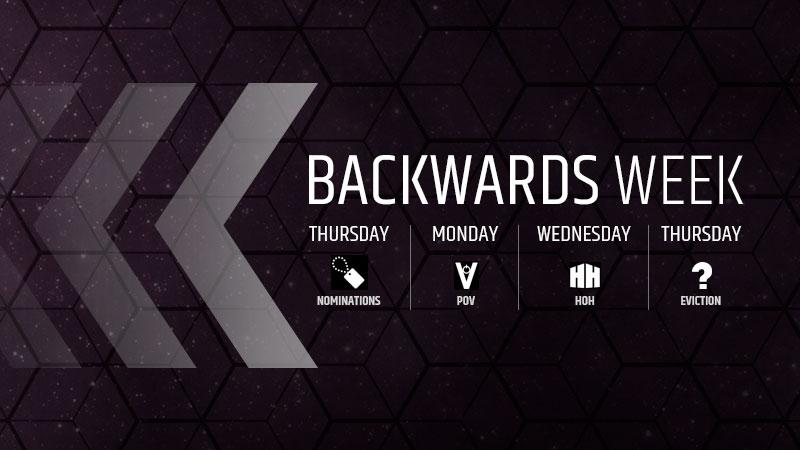 Image result for Big Brother Canada 5 backwards week