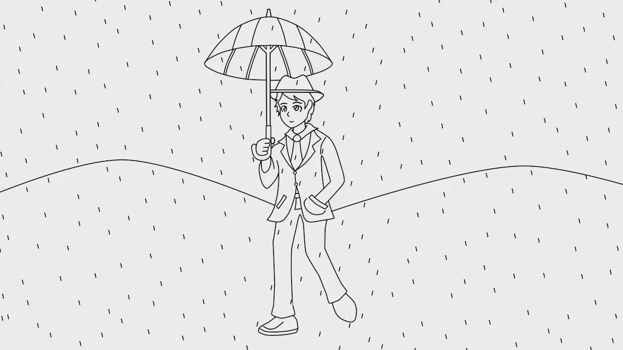 Qué significa dibujar personas bajo la lluvia en las entrevistas de ...