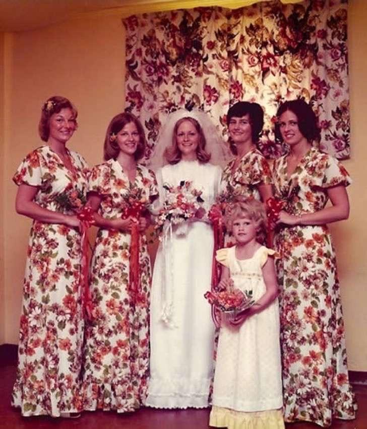 15 novias que eligieron los peores vestidos para sus damas de honor ...