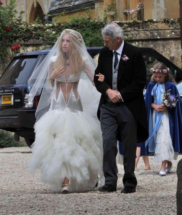 Vestidos madre novia famosas