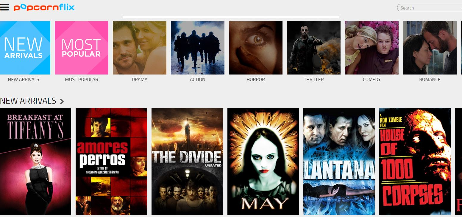 Watch movies and series online for free