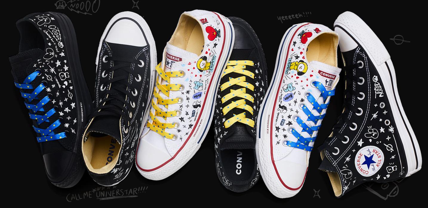 BTS: Así lucirán las zapatillas inspiradas en el septeto que