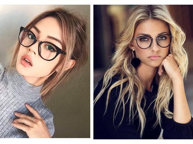 c4791c74e7 Si tienes que llevar gafas grandes redondas o cuadradas, debes enfocarte en  peinados que les den volumen a los laterales, de preferencia en corte midi.