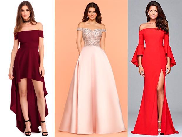 Modelos de vestidos de fiesta de promocion