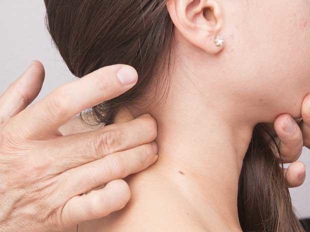 inflamación de ganglios linfáticos
