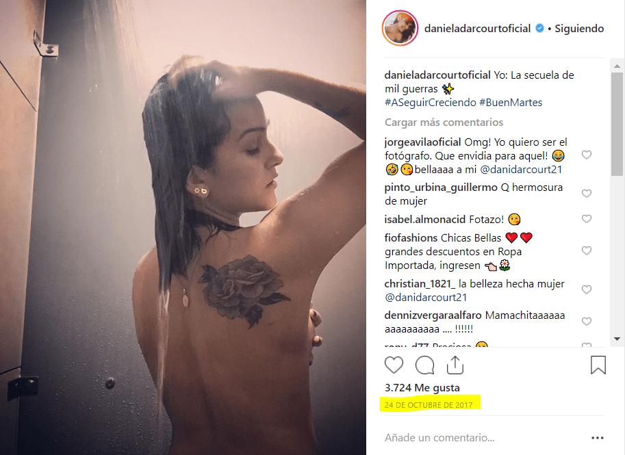 Instagram Daniela Darcourt Alborota A Los Usuarios Tras Posar