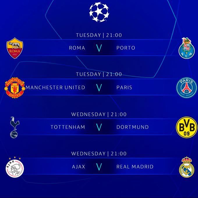 Champions League 2019 EN VIVO EN DIRECTO