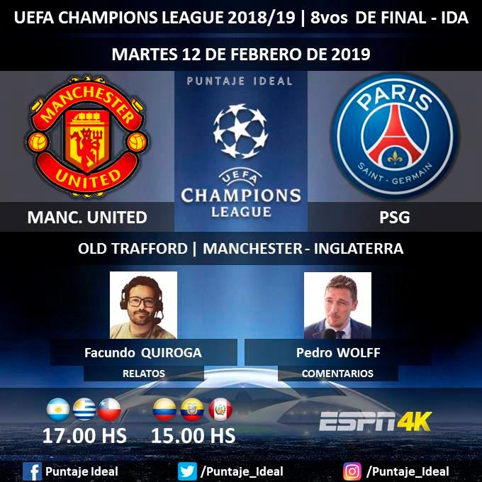 Image Result For En Vivo Por Internet Psg Vs Manchester United